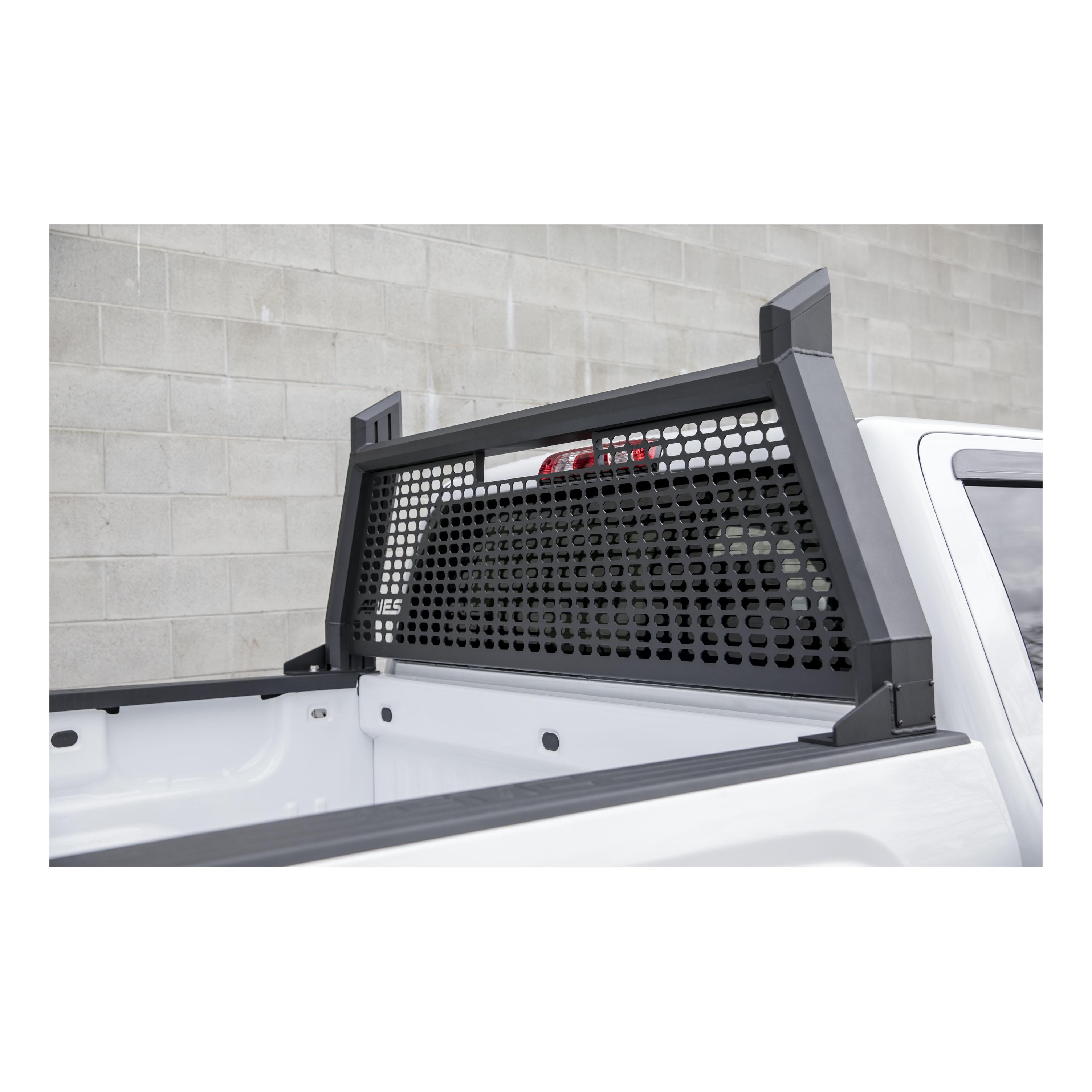 Aries 1110104 Black Aluminum Advantedge Headache Rack For Chevy