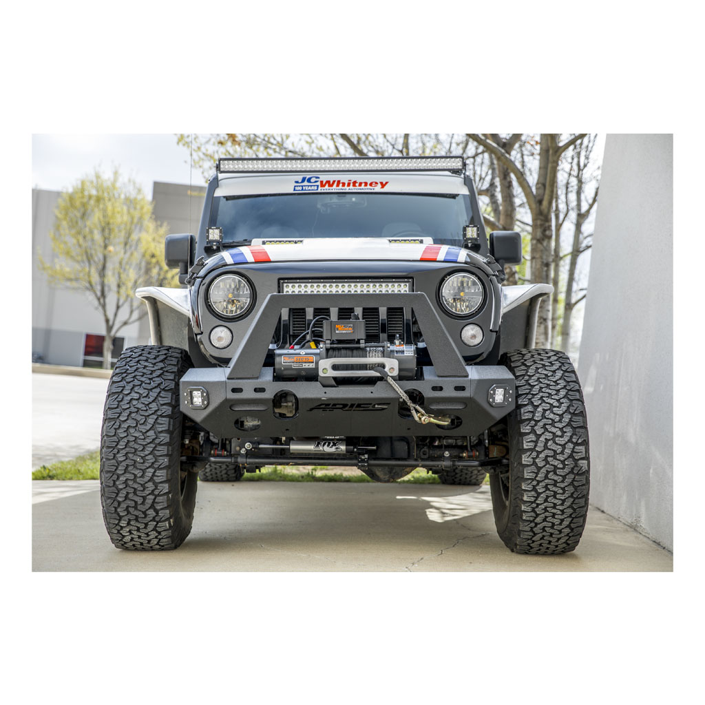 Aries Automotive Jeep Front Fender Flares