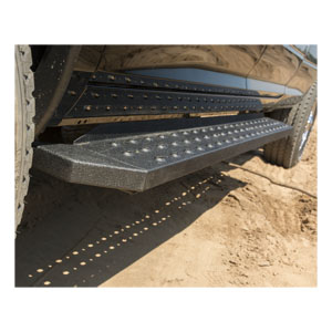 """6.5"""" Ridgestep Commercial Running Boards With Brackets"""