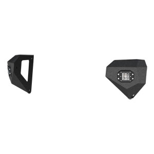 TrailChaser Jeep Front Bumper Corners with LED Lights