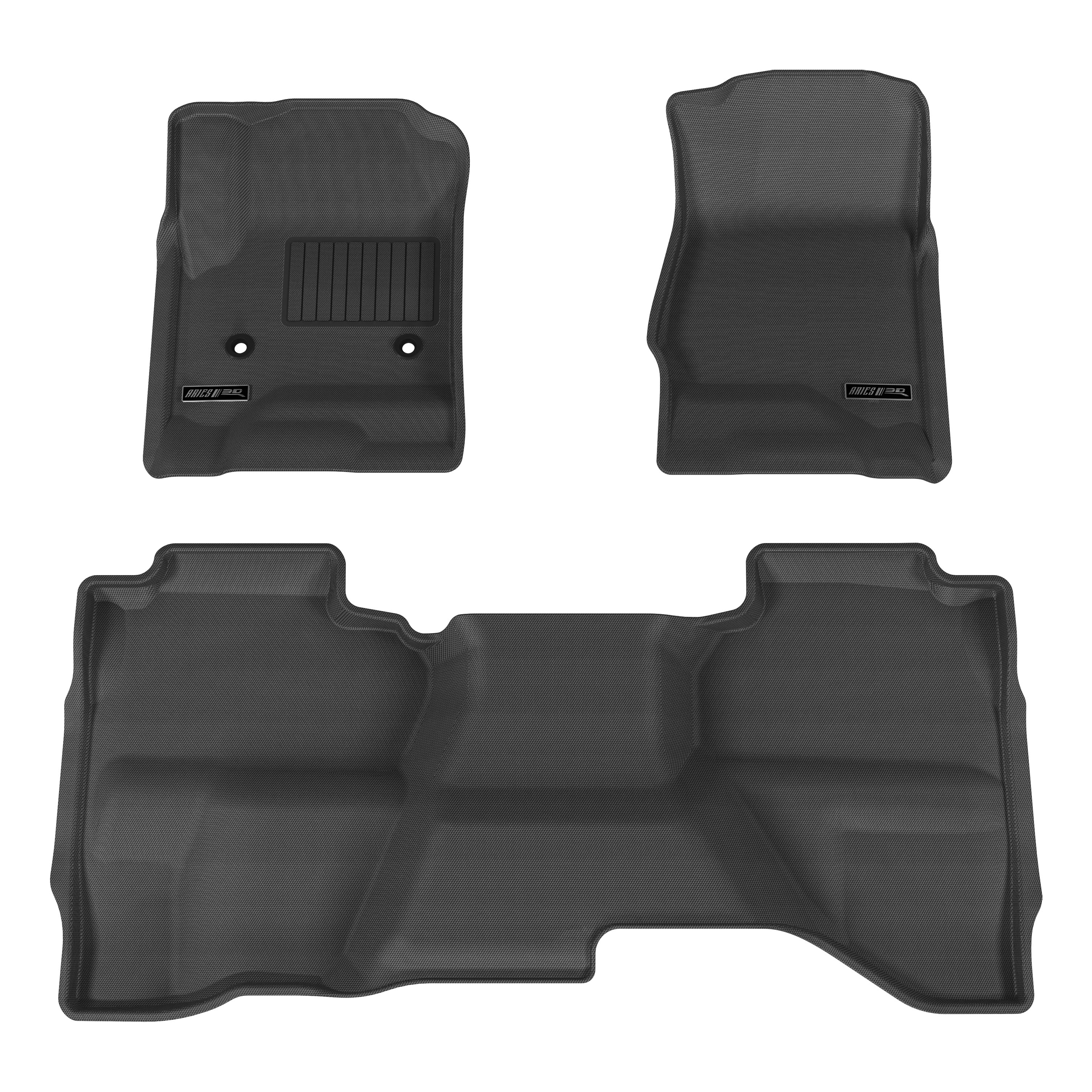 Weathertech mats ebay -  Black Floor Mat Liner Set For