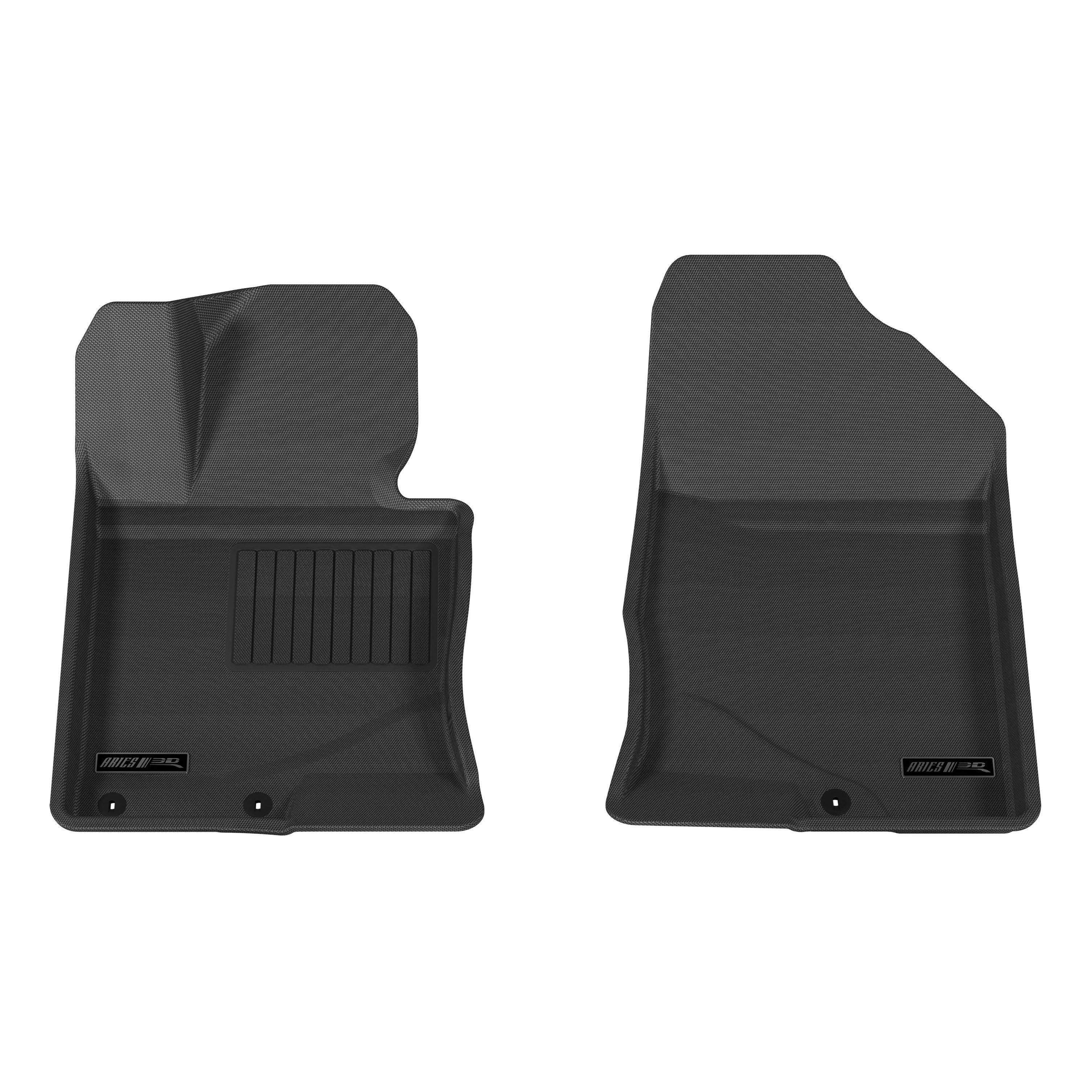 aries black floor mat liner set for 2011 2014 hyundai sonata ebay. Black Bedroom Furniture Sets. Home Design Ideas