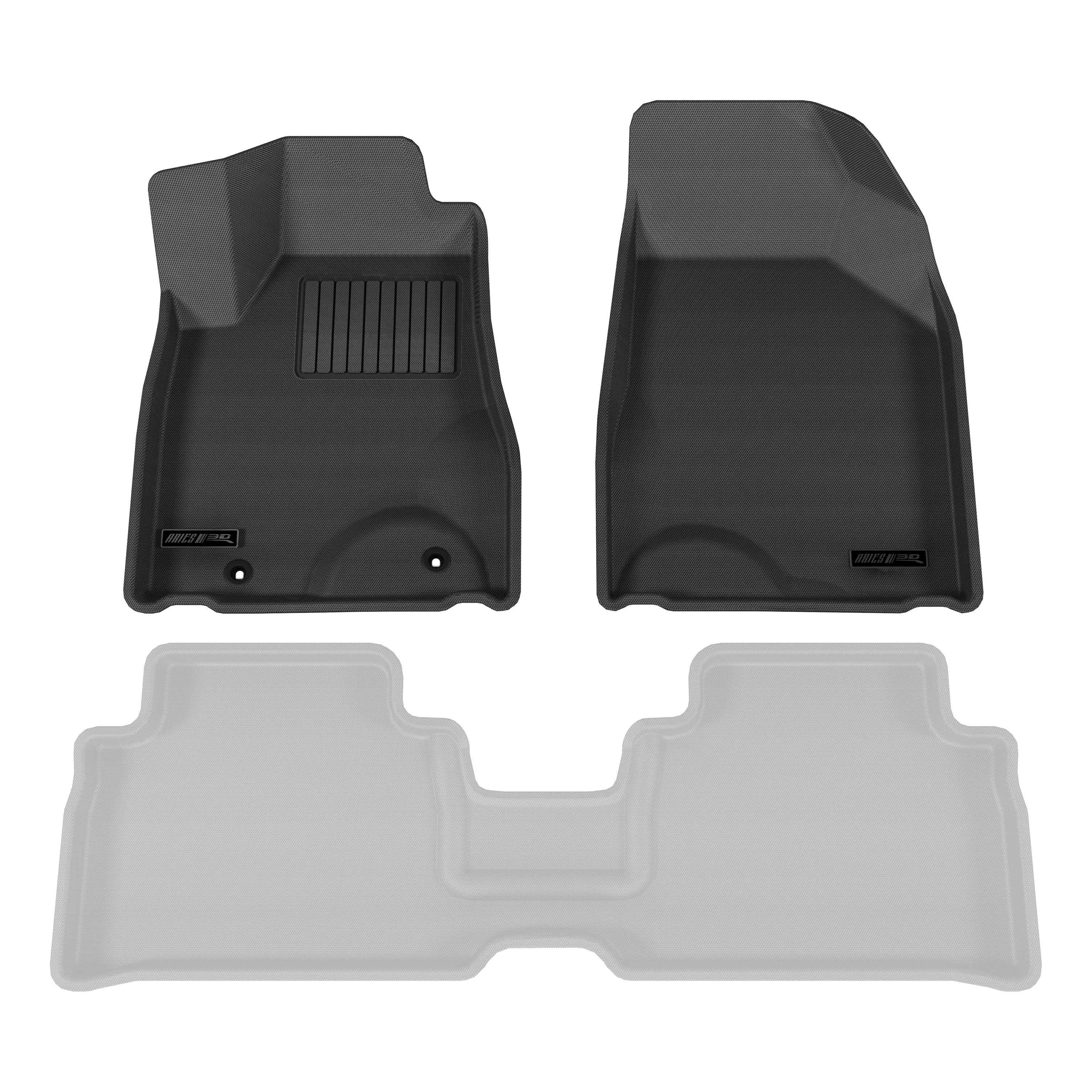 Lexus Rx350 Floor Mats: Aries LX01011509 Black Front Floor Mat Liner For Lexus