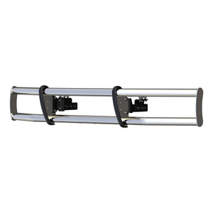 Image for MileStone Polished Stainless Bumper Guard
