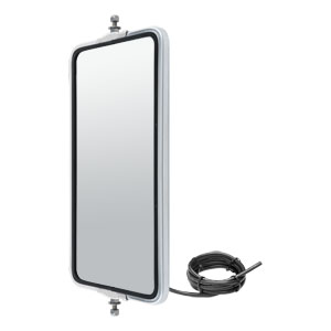 Image for Angle-Back Heated & Lighted West Coast Mirror Head