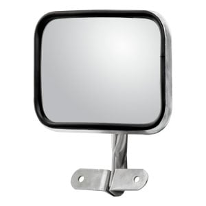 Image for Rectangular Convex Utility Mirror Assembly