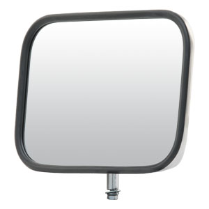 "Image for 9"" x 6"" Stainless Steel Light-Duty Truck Mirror Head"
