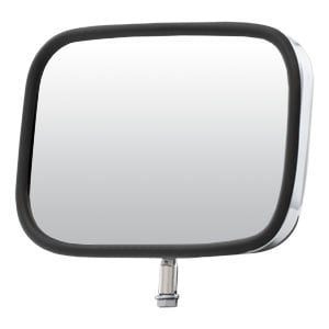 "Image for 8"" x 5"" Stainless Steel Light-Duty Truck Mirror Head"