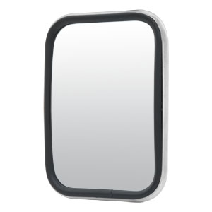 "Image for 5-1/2"" x 7-1/2"" Aluminum Rectangular Center-Mount Flat-Glass Mirror Head"