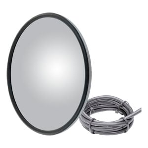 Image for Offset-Mount Heated Convex Mirror Head