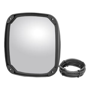 Image for Heated Convex Aerodynamic Mirror Head