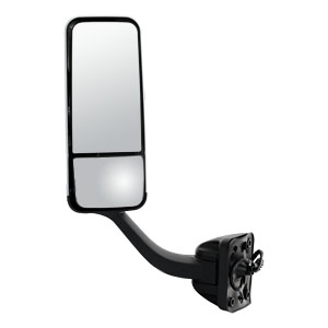 Image for Motorized Dual-Vision Heated Pedestal-Mount Mirror Assembly