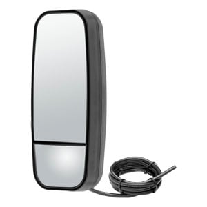 Image for Motorized Dual-Vision Heated & Lighted Aerodynamic Mirror Head