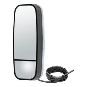 Image for Adjustable Dual-Vision Heated & Lighted Aerodynamic Mirror Head