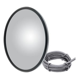 Image for Center-Mount Heated Convex Mirror Head