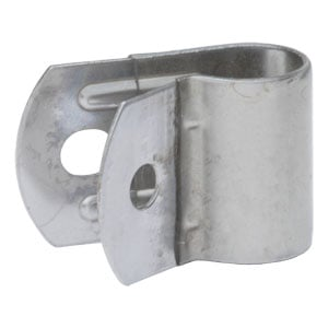 "Image for 3/4"" Plastic-Coated Stainless Steel Mirror Clamp (5/16"" Holes)"