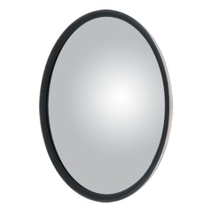 """Image for 7-1/2"""" Stainless Offset-Mount Convex Mirror Head with J-Bracket"""