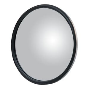 "Image for 6"" Stainless Center-Mount Convex Mirror Head with J-Bracket"