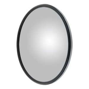 "Image for 8"" Stainless Offset-Mount Convex Mirror Head with Plastic Ball Stud, J-Bracket"