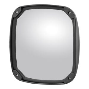 "Image for Aerodynamic 8"" Black Plastic Convex Mirror Head (Fits 3/4"" to 1-1/4"" Tube)"
