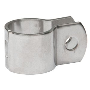 "Image for 1"" Stainless Dovetail Mirror Clamp (3/8"" Holes)"