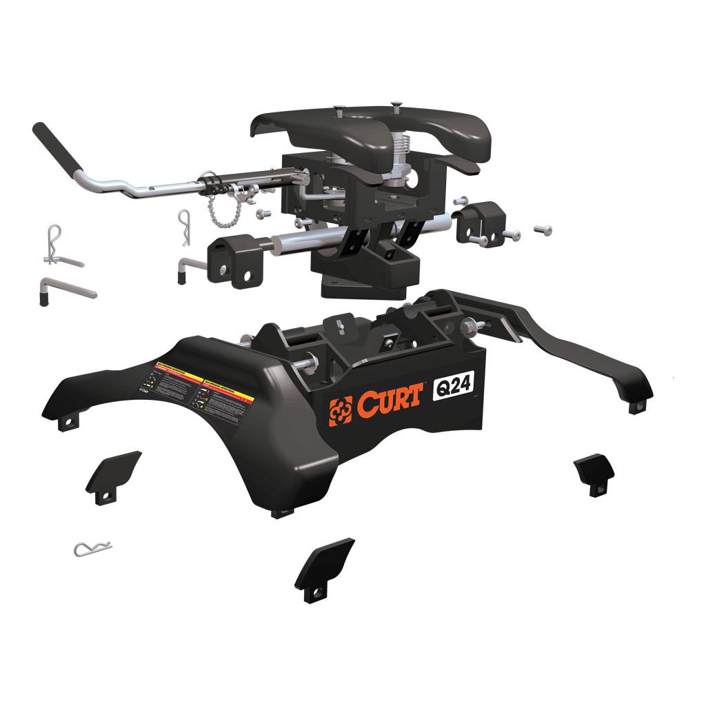Curt Fifth Wheel Hitch >> CURT Manufacturing - CURT Q24 5th Wheel Hitch #16245