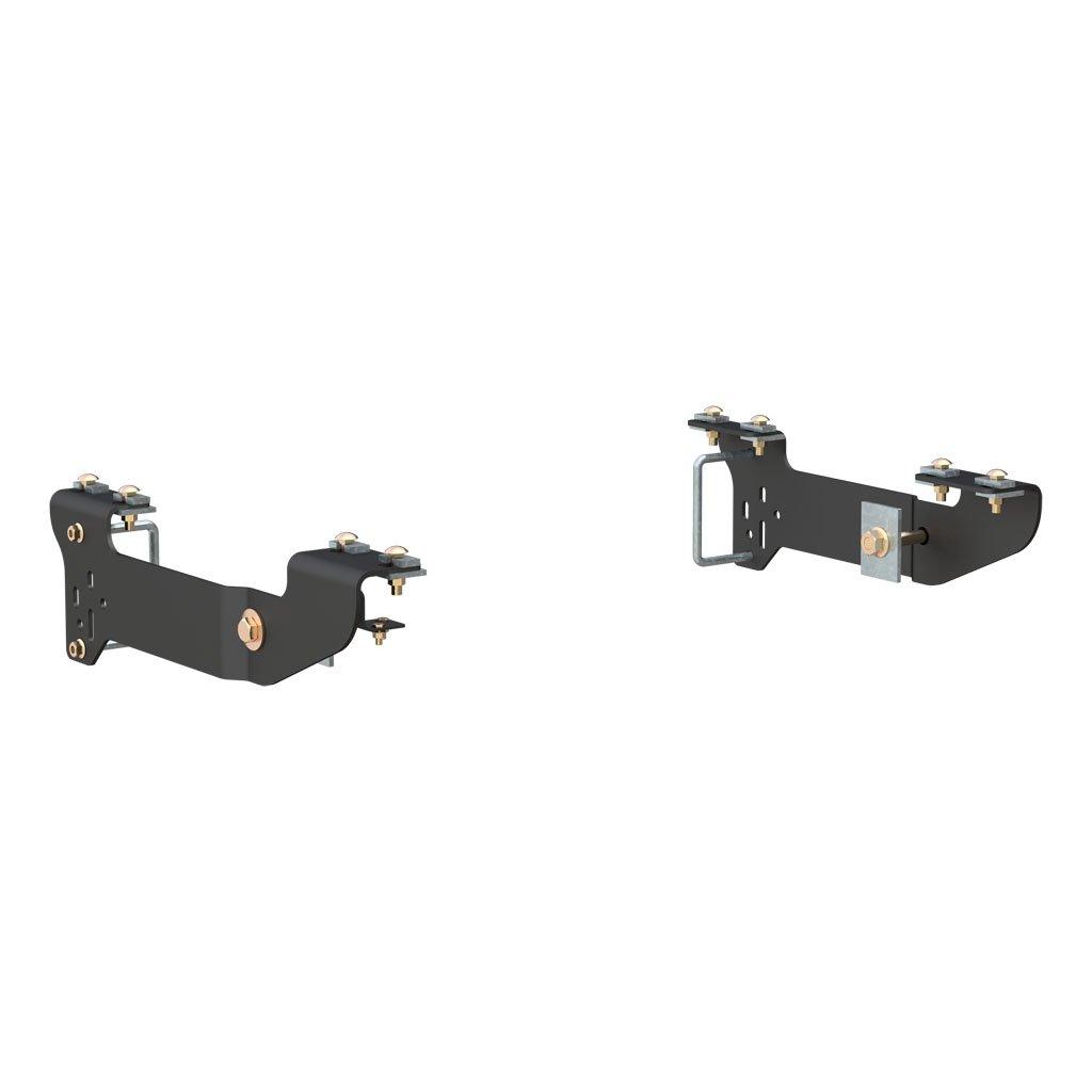 Trailer Hitch Wiring Harness Bracket : Curt manufacturing custom th wheel bracket kit