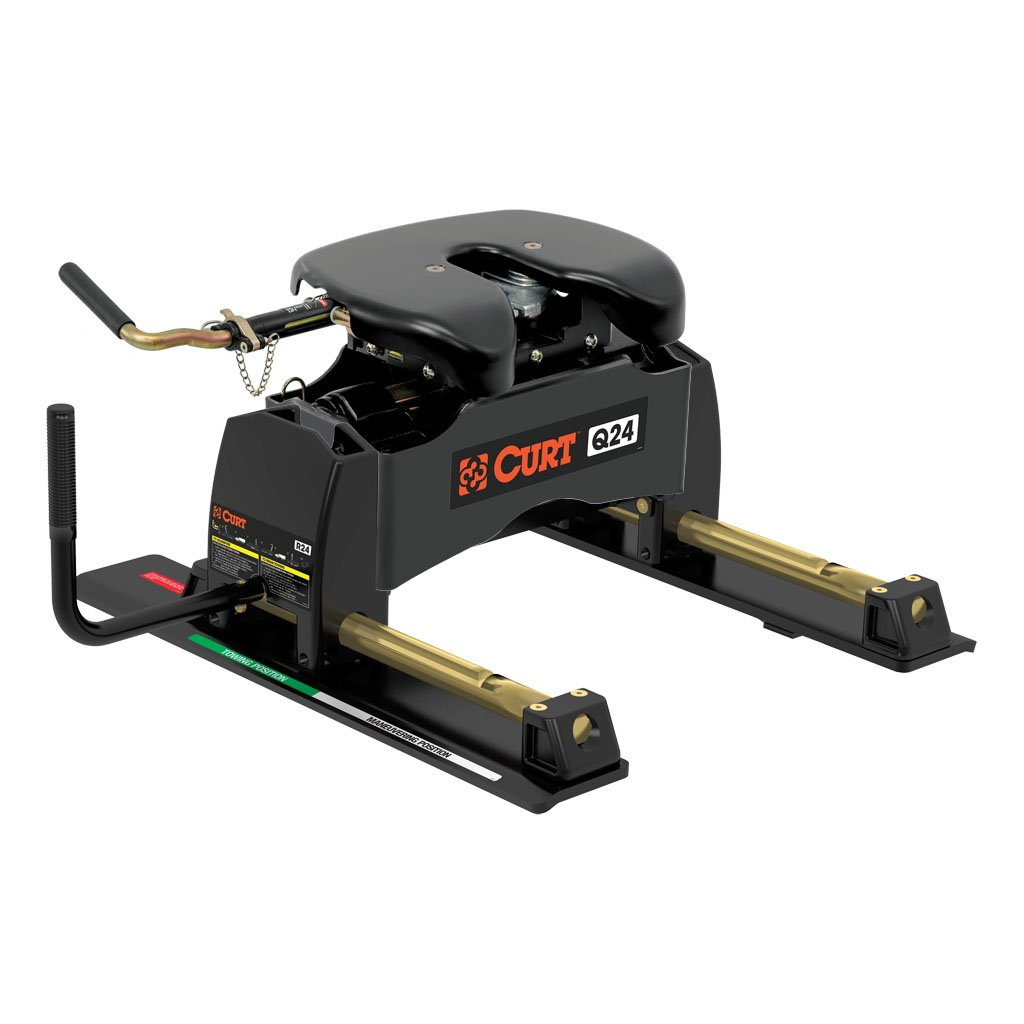 Fifth Wheel Trailer Hitch : Curt manufacturing q th wheel hitch with roller