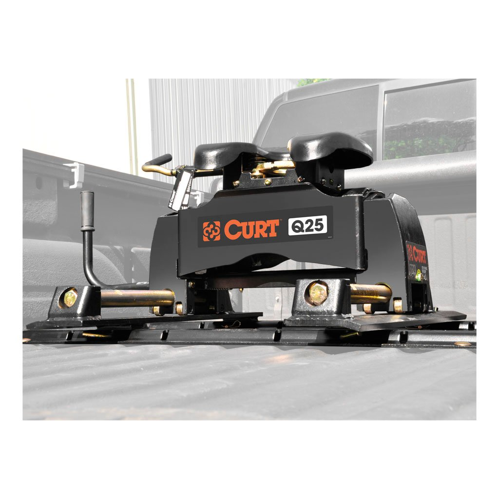 5th Wheel Travel Trailers: CURT Q25 5th Wheel Hitch With Roller