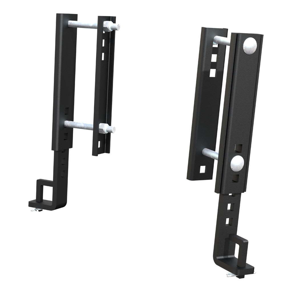 weight distribution hitch hook up brackets Full 5º of side-to-side pivot for easy hook-up on uneven ground weight distribution hitches no chains or snap-up brackets are necessary and the 350 mini.