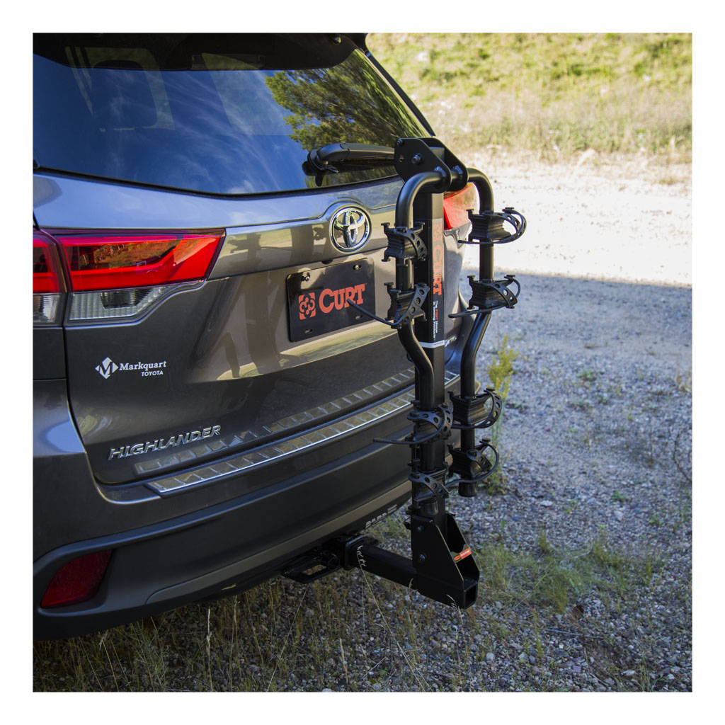 Curt Manufacturing Curt Premium Hitch Mounted Bike Rack