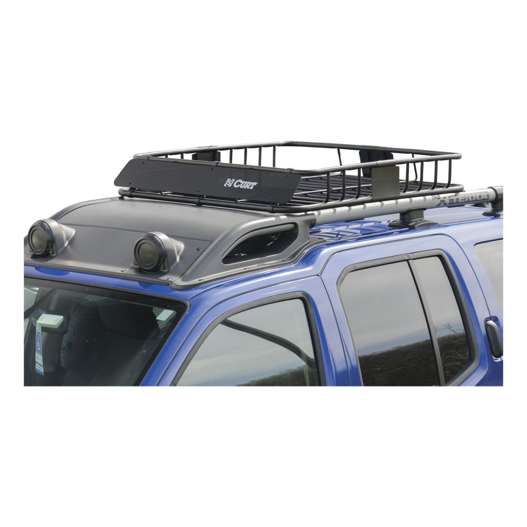 Curt Manufacturing Curt Roof Rack Cargo Carrier 18115