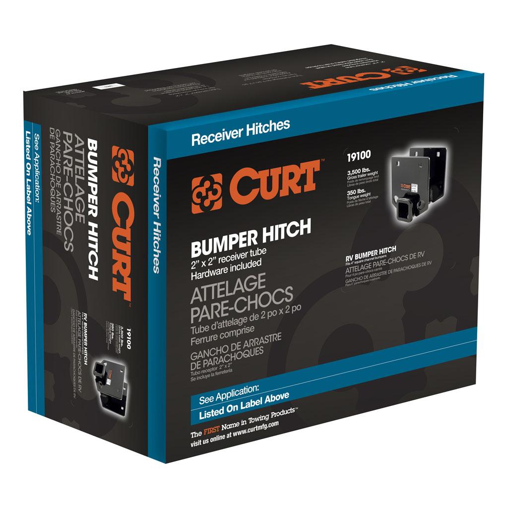 CURT Manufacturing - CURT RV Bumper Hitch #19100