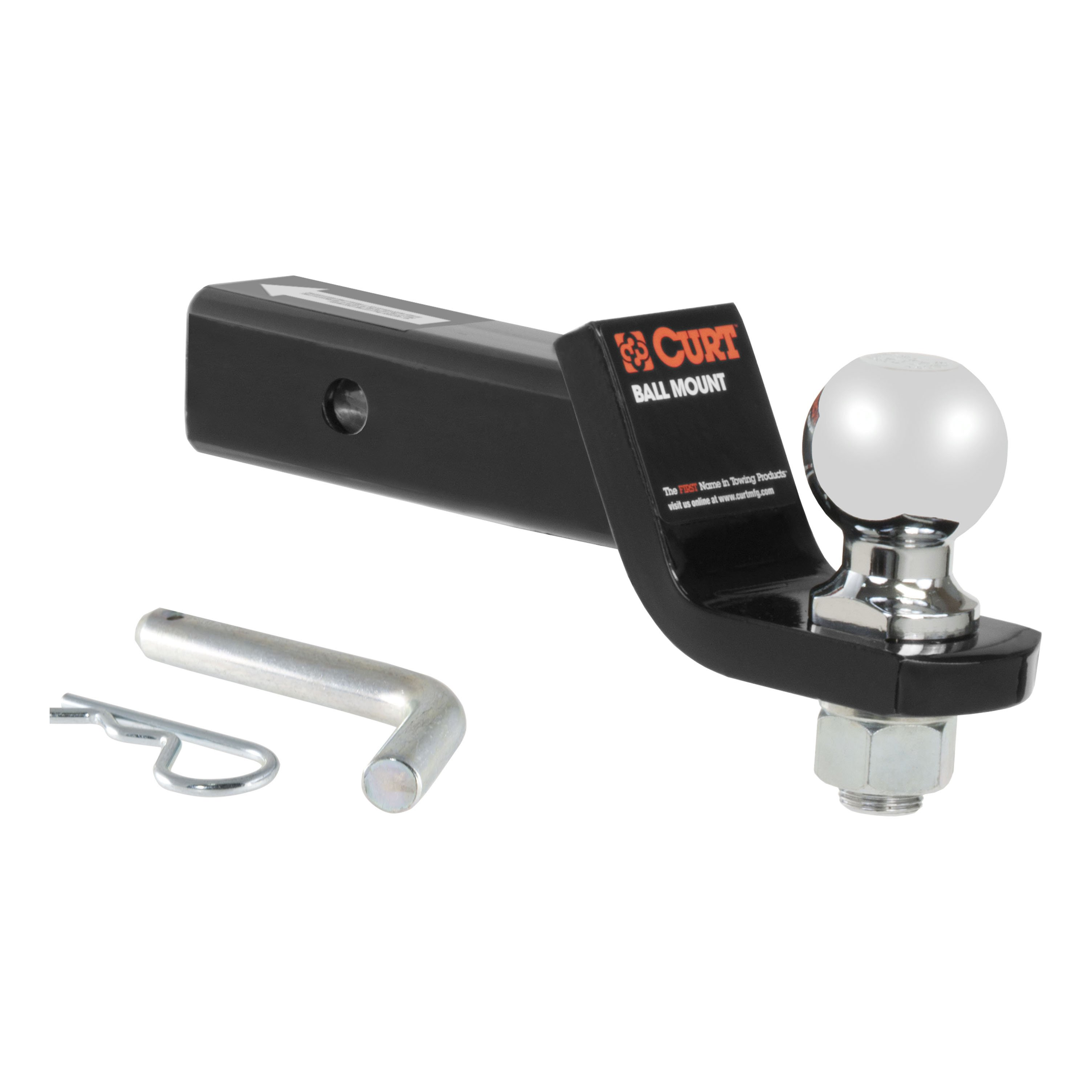 curt class 3 hitch tow package with 2 16 u0026quot  ball for 2015