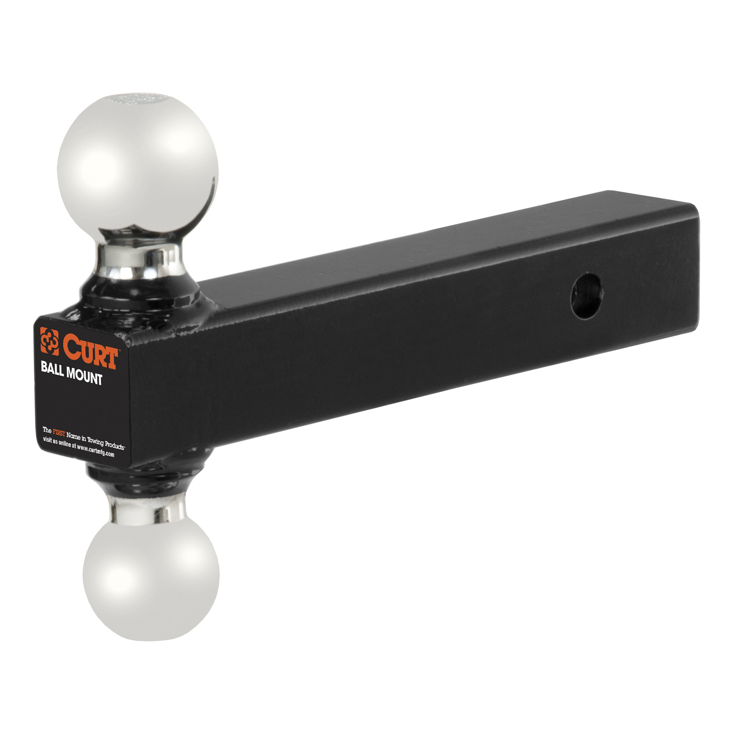 CURT Trailer Hitch, Wiring & Multi-Ball Ball Mount For