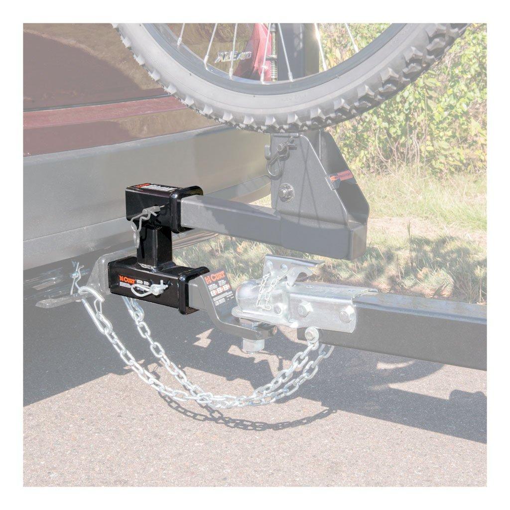 Hitch Bike Rack Reviews >> CURT Manufacturing - CURT Dual Receiver Extender #45792