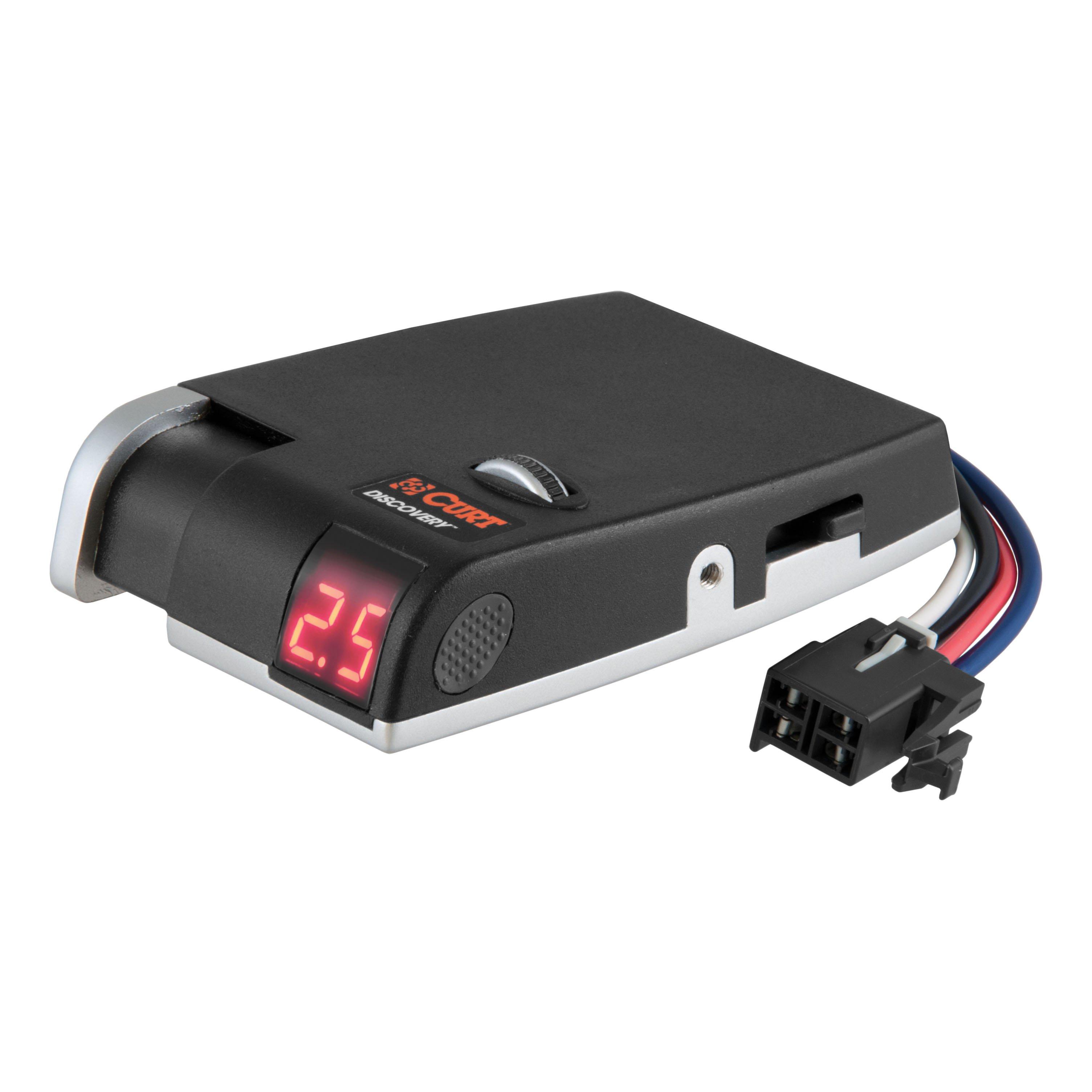 curt discovery brake controller & wiring kit for toyota ... hopkins impulse trailer brake controller wiring diagram toyota tacoma brake controller wiring