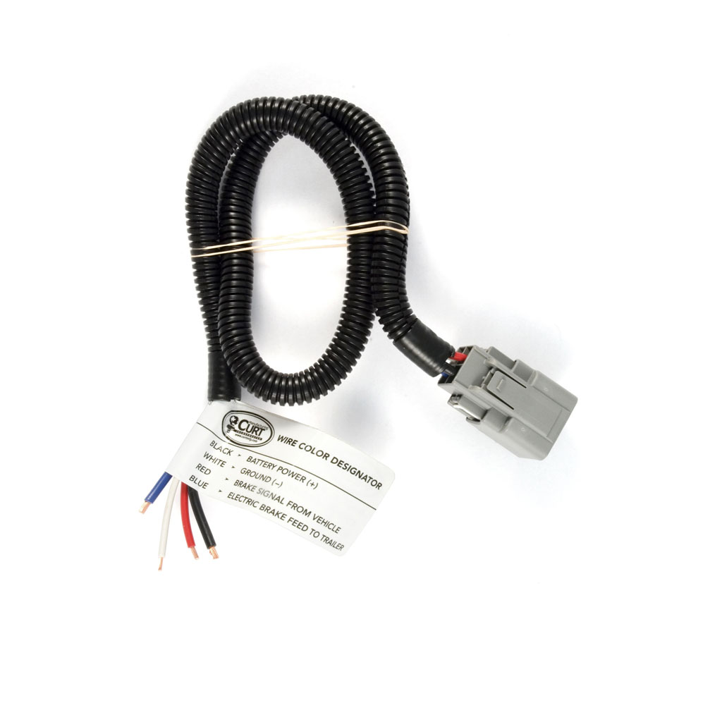 curt brake harness packaged oem connector with 2 ft wire