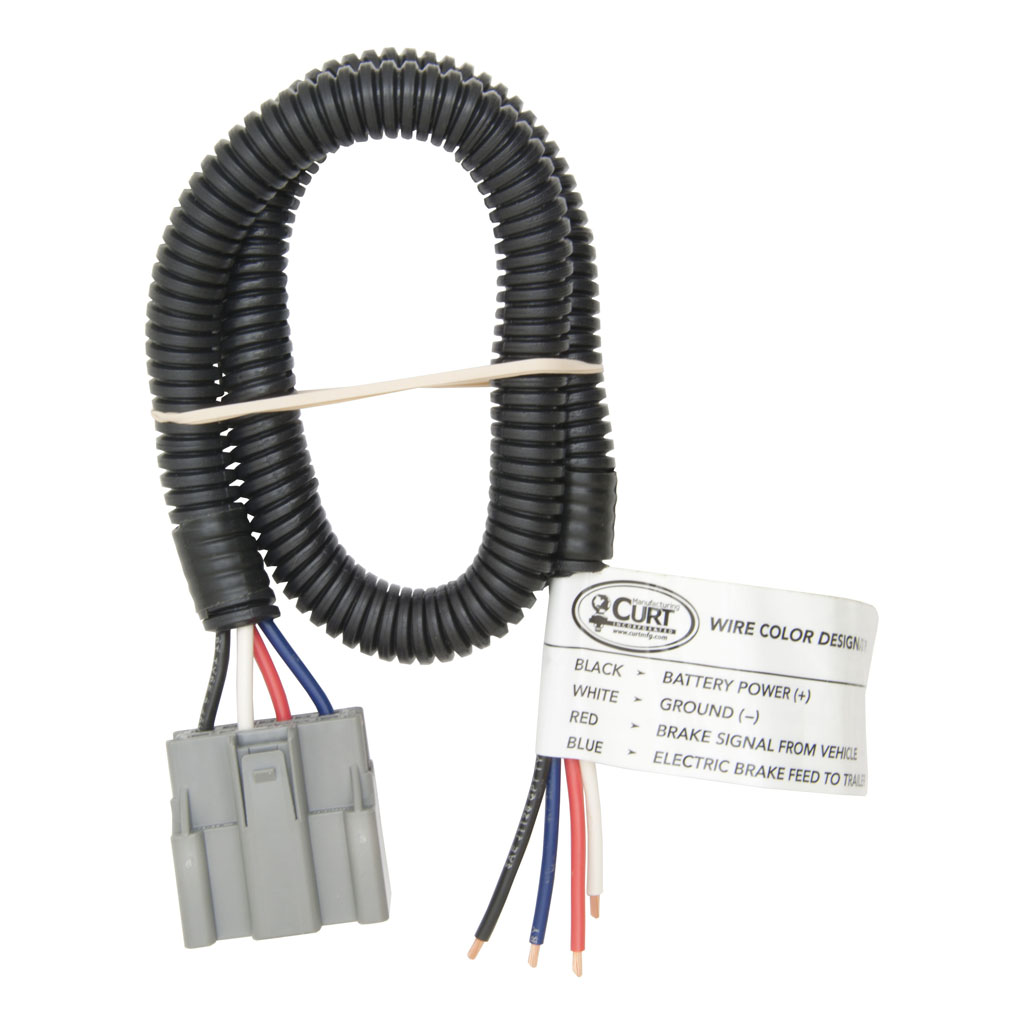 curt brake harness packaged oem connector with 2 ft wire ebay