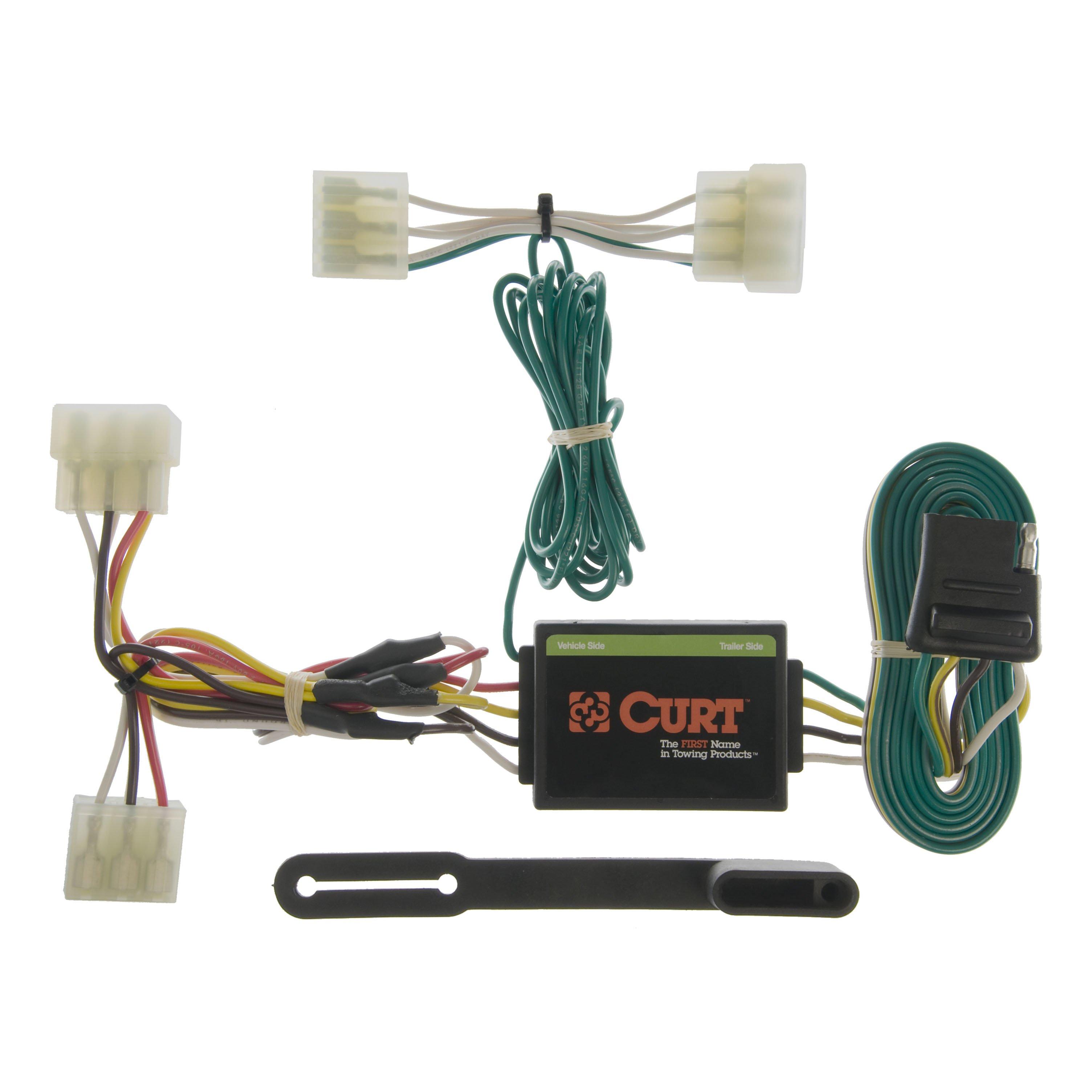 curt vehicle-to-trailer wiring harness 55304 for mazda b2000, b2200, b2600