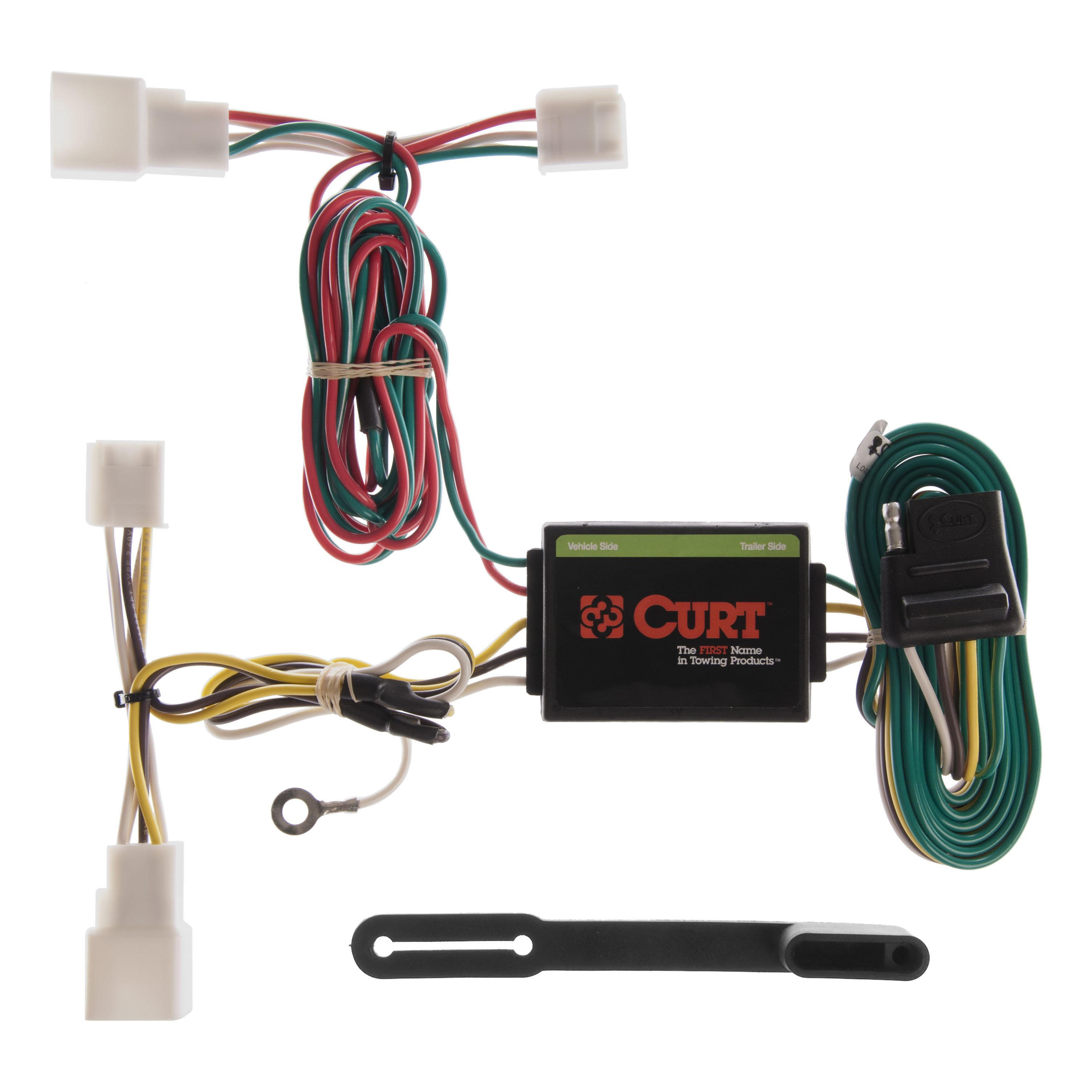 Toyota Camry Trailer Wiring Harness : Curt custom vehicle to trailer wiring harness for