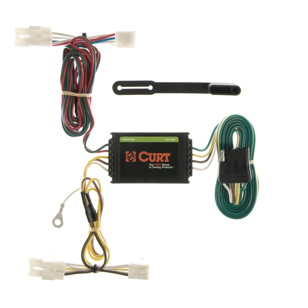 curt manufacturing curt custom wiring harness 55309. Black Bedroom Furniture Sets. Home Design Ideas
