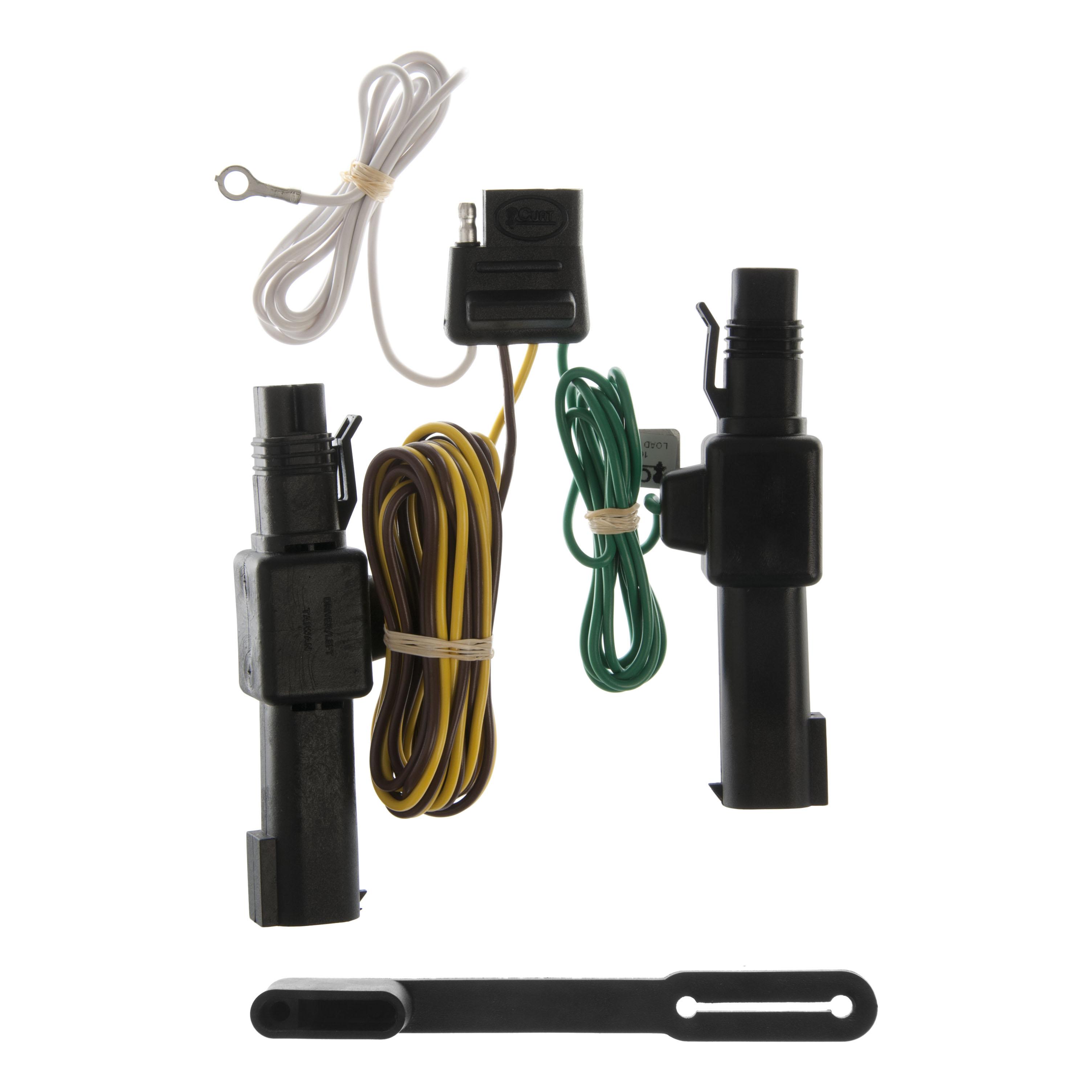 CURT 55317 Custom Wiring Harness for Dodge Dakota, Ram