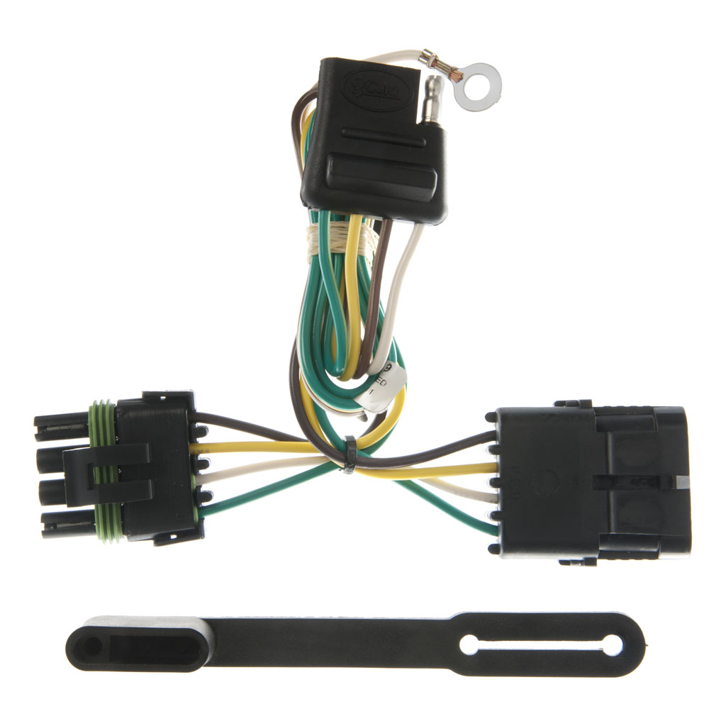 Trailer Wiring Harness Plug Covers : Curt manufacturing custom wiring harness