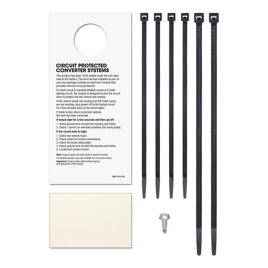 curt manufacturing curt custom wiring connector 55336 part 55336 a part 55336 b