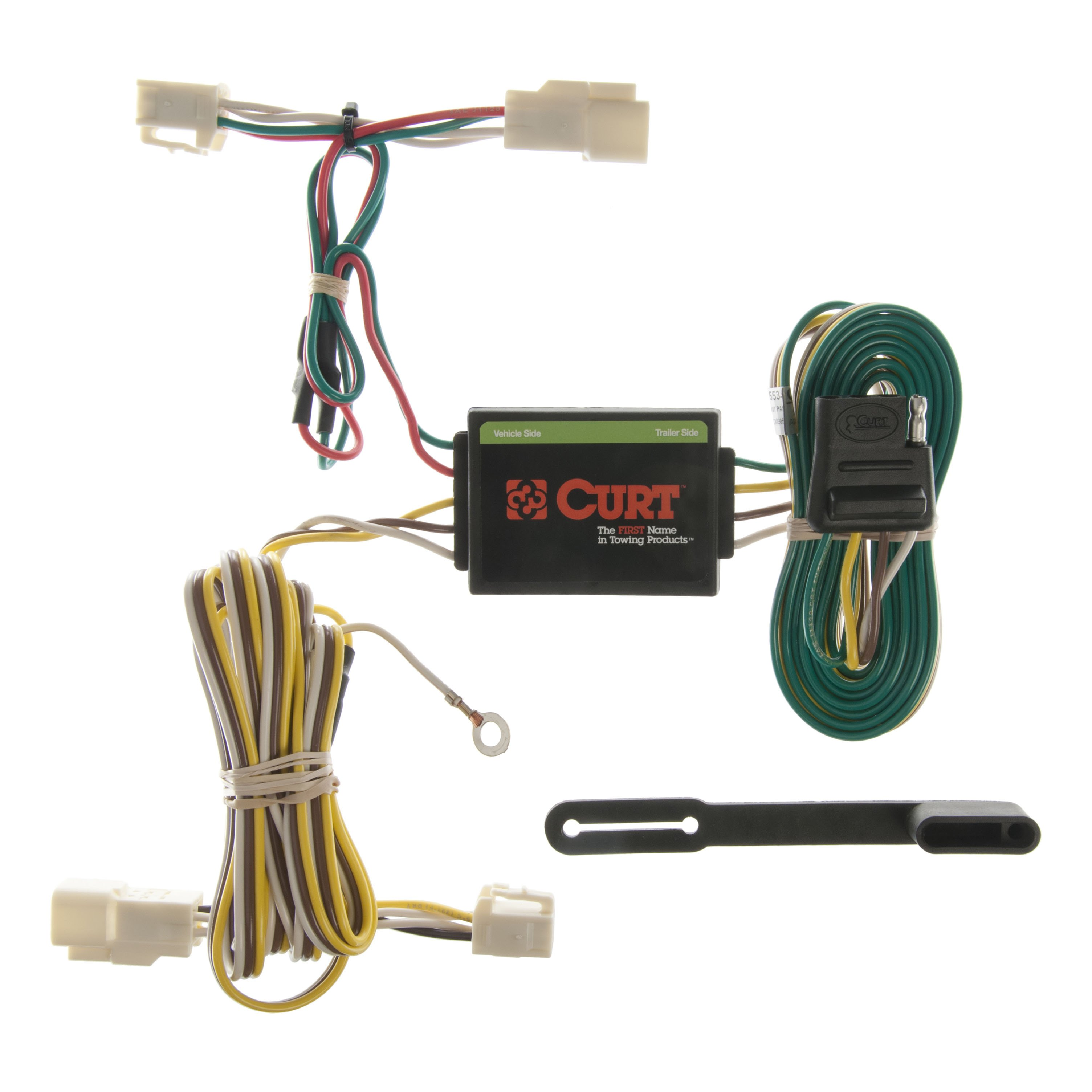 Curt Custom Vehicle To Trailer Wiring Harness 55341 For 1996 2002 Toyota 4runner