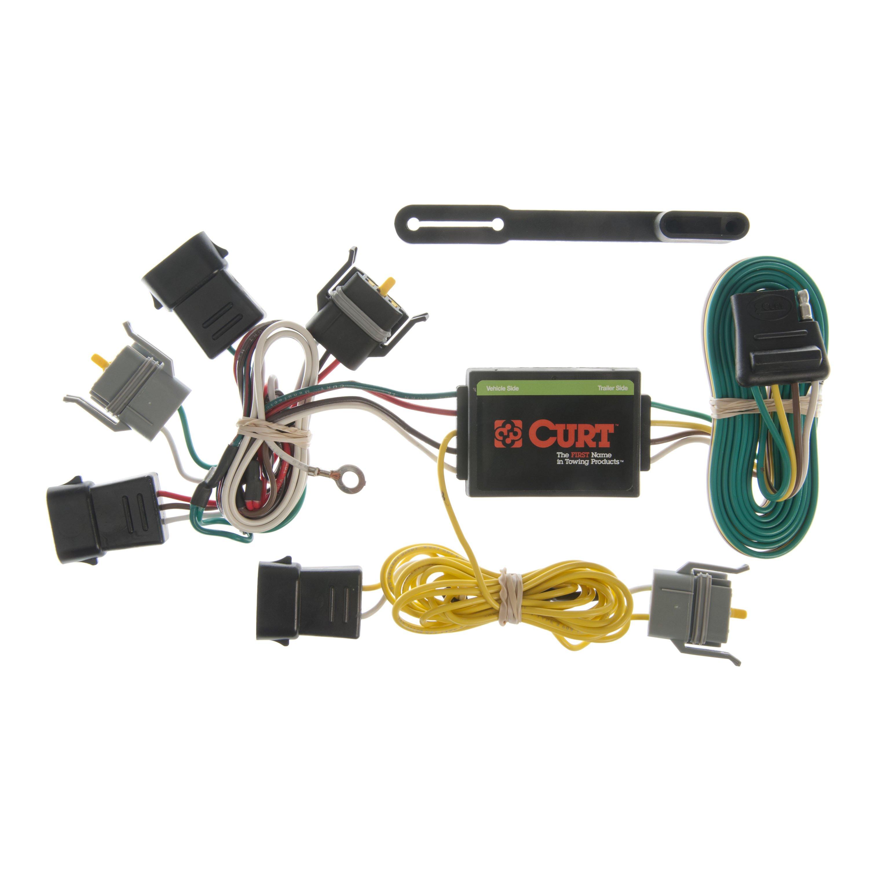CURT 55343 Wiring for Ford E-Series Van, Escape, Mazda Tribute, Mercury  Sable
