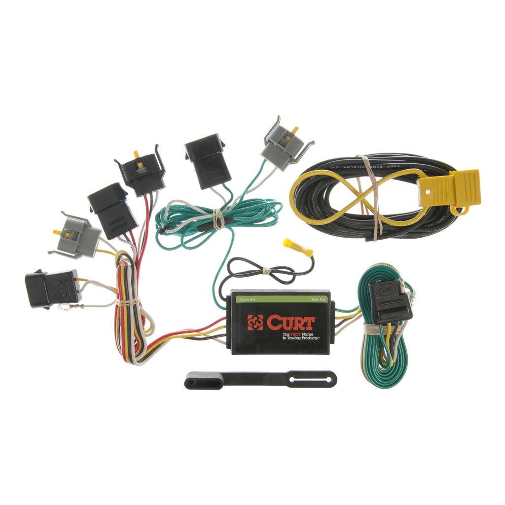 curt manufacturing curt custom wiring harness 55345