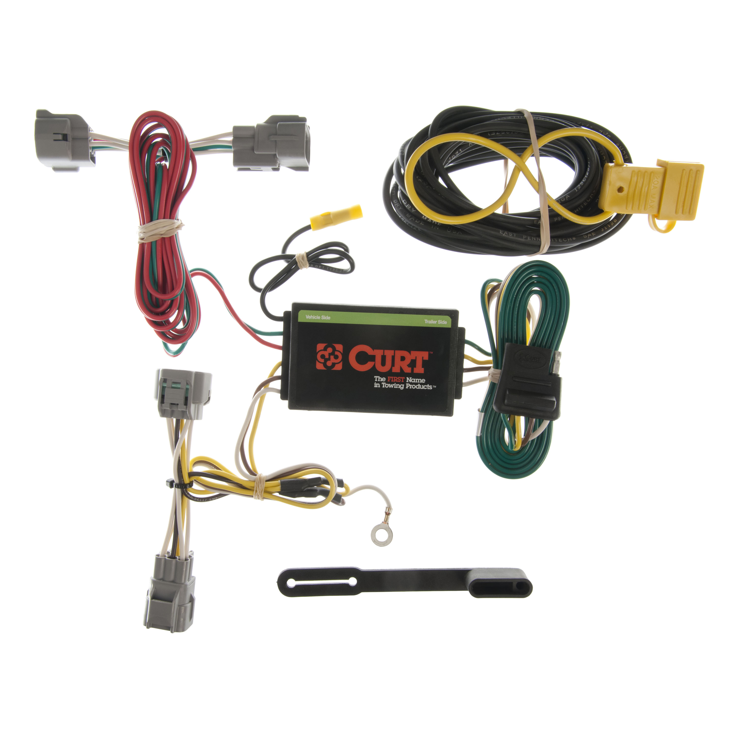 Jeep Trailer Wiring 98 Trusted Diagrams Curt Vehicle To Harness 55349 For 94 Grand Light 1996 Xj