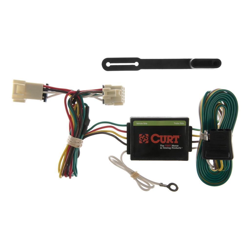 curt manufacturing curt custom wiring harness 55355 Curt T-Connector Wiring Harness 6 Pin Trailer Wiring